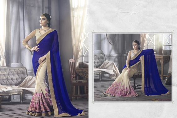 The Saree - it covers the right amount and exposes the right amount
